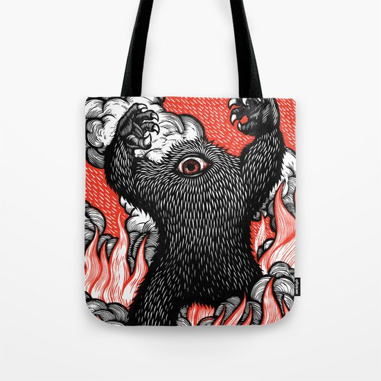 A Monster Is Born! Tote Bag