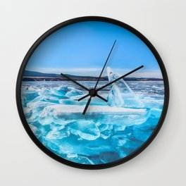 Treasure of Baikal Wall Clock