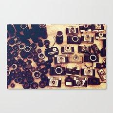 I love analogue photography Canvas Print