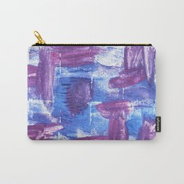Royal purple abstract watercolor Carry-All Pouch