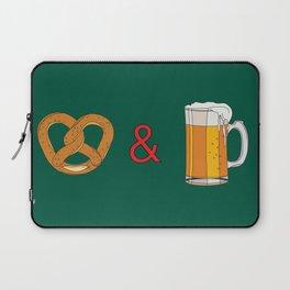 Bretzels (Pretzels) and Beer Laptop Sleeve