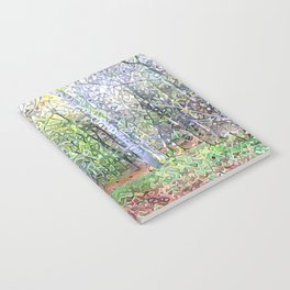 Whispering Woods Notebook