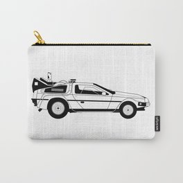 Delorian Time Machine Carry-All Pouch
