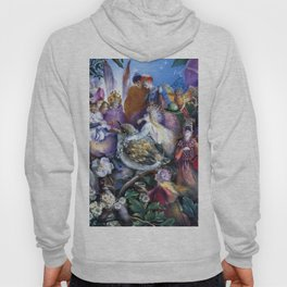 """""""The Fledgling"""" by John Anster Fitzgerald  Hoody"""