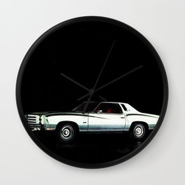 1976 Chevrolet Monte Carlo Wall Clock
