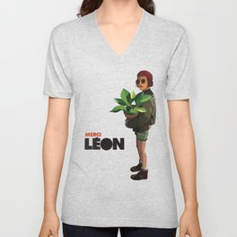 Mathilda, Leon the Professional Unisex V-Neck