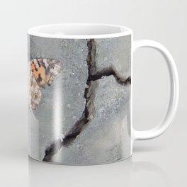 Butterfly on Crack Coffee Mug