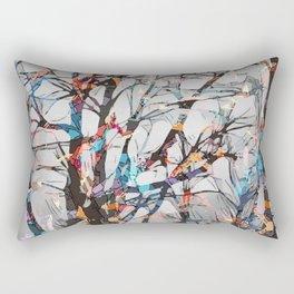 Abstract tree art  Rectangular Pillow