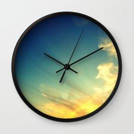 Sky Fire Wall Clock