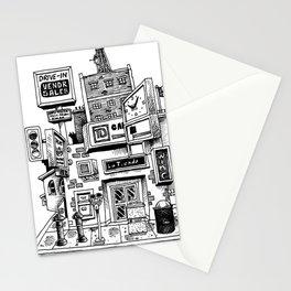 Downtown Brandon Manitoba Stationery Cards