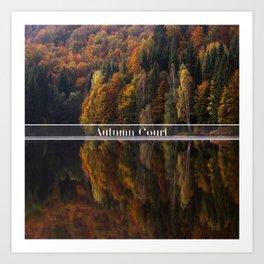 Autumn Court Art Print
