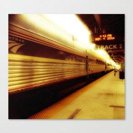 Train Track 2 Canvas Print