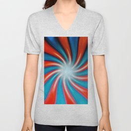 Crazy Colors Unisex V-Neck