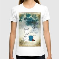 westie T-shirts featuring Love is a Four Legged Word ~ Westie ~ West Highland White Terrier by Ginkelmier