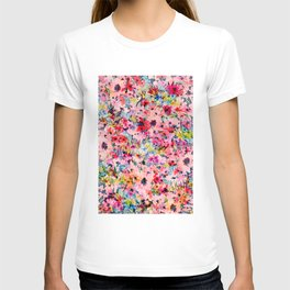 Little Peachy Poppies T-shirt