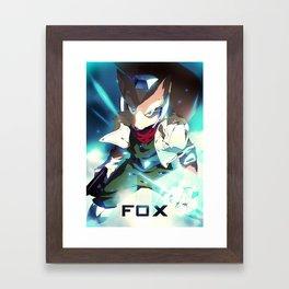Melee | Fox Framed Art Print
