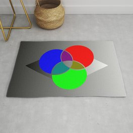 RGB Color Palette Crossover Rug