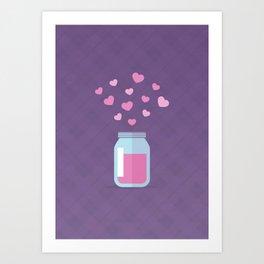 Love Jam Art Print