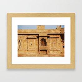 Jaisalmer Fort 02 Framed Art Print