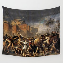The Intercession of the Sabine Women Wall Tapestry