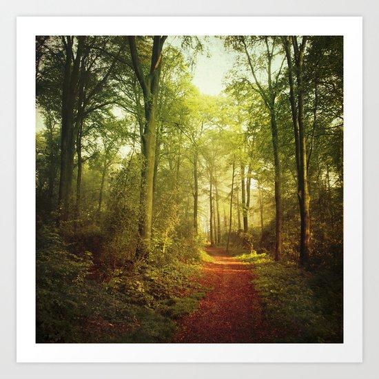 October Forest Art Print