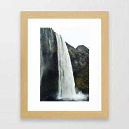 Seljalandsfoss - Iceland Framed Art Print