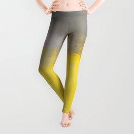 A Simple Abstract Leggings
