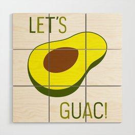 Let's Guac! Wood Wall Art