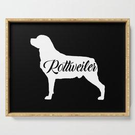 Rottweiler Serving Tray