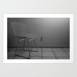 Iphone charger Art Print