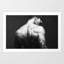 Back I Art Print