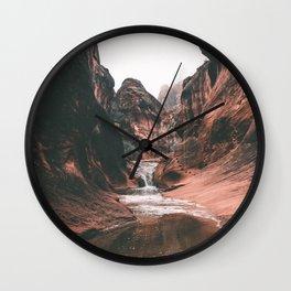 Utah III Wall Clock