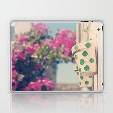 Nature and polka dots Laptop & iPad Skin