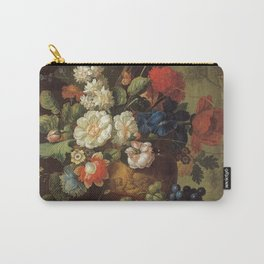Jan Van Os - Flowers. Carry-All Pouch