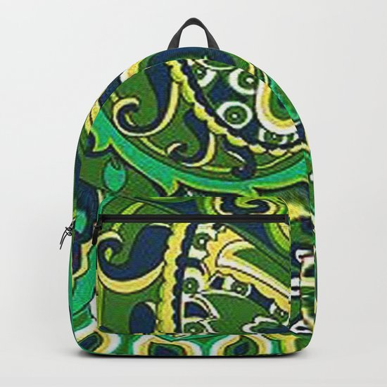 Floral Paisley Pattern 04 Backpack