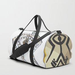 Twin Souls Merge Duffle Bag
