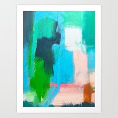 Pacific Ocean, No. 1 Art Print