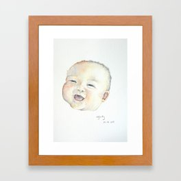 Wonderful Silence || Nganting Framed Art Print