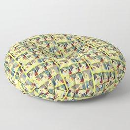 Cockatiel Art Floor Pillow