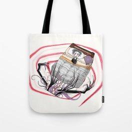El Monstruo Pintado (Parte I) Tote Bag