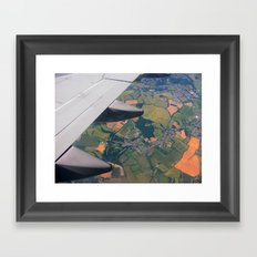 High Up in the Sky Framed Art Print
