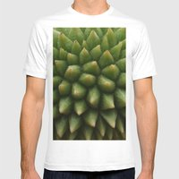 BABY DURIAN  White MEDIUM Mens Fitted Tee