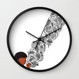 COUGH Wall Clock