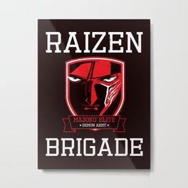Mazoku Elite Raizen Brigade Metal Print