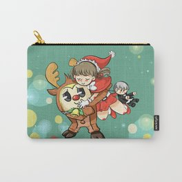 Teddie and Nanako Carry-All Pouch