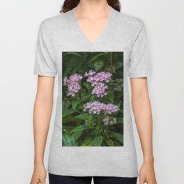 Floral Print 074 Unisex V-Neck