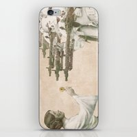 literary iPhone & iPod Skins featuring Flowers for Alderaan by Eric Fan