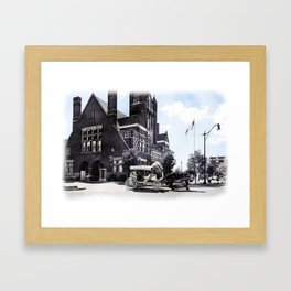 Historic Bardstown Carriage Framed Art Print
