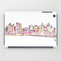sydney iPad Cases featuring Sydney by Ursula Rodgers