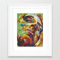 libra Framed Art Prints featuring Libra by Jose Rivas